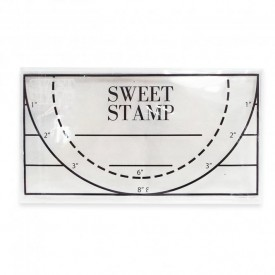 SWEET STAMP   Clear Rectangle Pick Up Pad