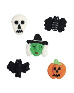 Assorted Halloween Sugar Pipings (pack of 250)