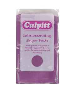 Culpitt Cake Decorating Sugar Paste Purple 1 x 250g - single