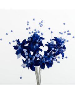 Royal Blue babies breath – 72 Pack