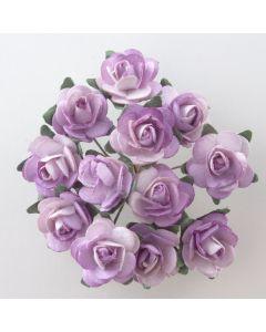 Lilac paper tea rose – 144 Pack