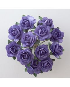 Lavender paper tea rose – 144 Pack