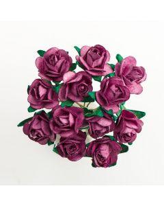 Dusky pink paper tea rose – 144 Pack