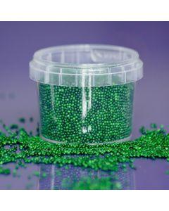 Purple Cupcakes Non Pareils - Green - 100g
