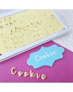 SWEET STAMP  Cookie Edition Embossing Set