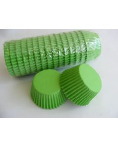 Lime Green Cupcake Baking Cases (pack of 180)