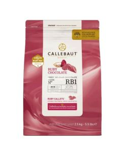 Callebaut Belgian Ruby Chocolate - 2.5kg