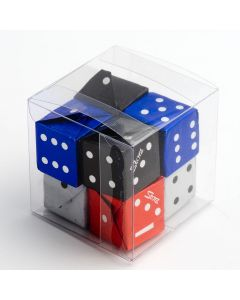 Transparent Cube Box 50x50x50mm (single)