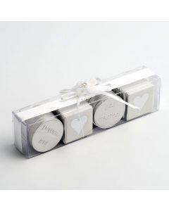 12387 - Transparent – rectangular box 160x40x30mm