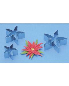 PME Calyx/Poinsettia Cutter 3 Set