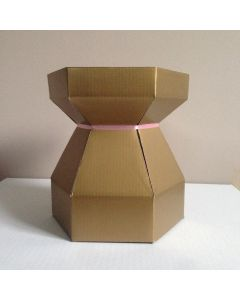 Cupcake Bouquet Box - Gold