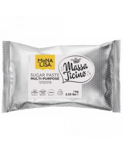 Massa Ticino By Mona Lisa - White Sugarpaste 1Kg