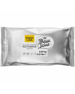 Massa Ticino By Mona Lisa - White Sugarpaste 2.5Kg