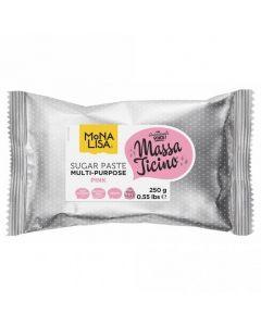 Massa Ticino By Mona Lisa - Pink Sugarpaste 250g