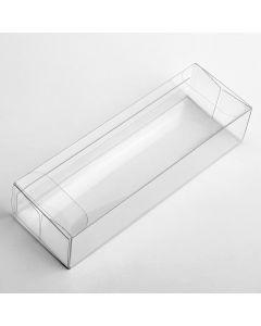 15441 - Transparent Box (side closure) 130x35x25mm