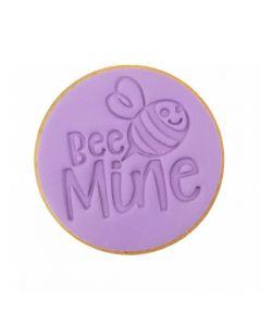 Sweet Stamp 'Bee Mine' Cookie/Cupcake Embosser