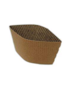 8/10oz Cup Collars Brown x 100