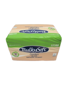 Bulky Soft White Napkins 28cm x 30cm 1 ply x 500