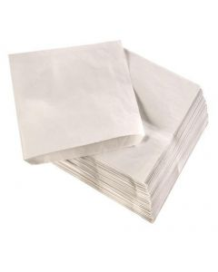 White Sulphite Bag 33gsm 10 X 10 Inch X 1000