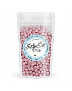 Make A Wish - Pink 6mm Pearl Sprinkle Mix (80g)