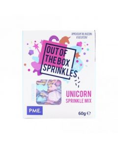PME Unicorn - Out The Box Sprinkle Mix - 60g