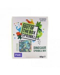 PME Dinosaur - Out The Box Sprinkle Mix - 60g