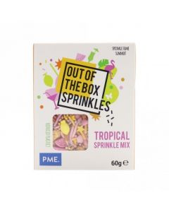 PME Tropical - Out The Box Sprinkle Mix - 60g