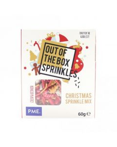 PME Christmas - Out The Box Sprinkle Mix - 60g