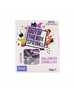 PME Halloween - Out The Box Sprinkle Mix - 60g