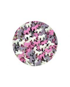 Scrumptious : Sugar Pink Mix Unicorns - 60g