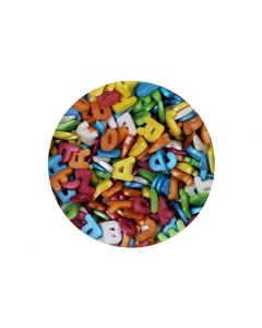 Scrumptious : Sugar Glimmer Assorted Letters - 60g