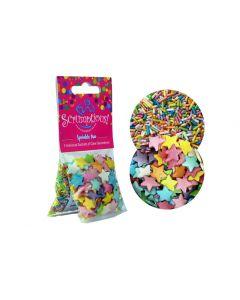 Scrumptious : Sprinkle Duo Pack - Rainbow Jumbo Stars & Strands