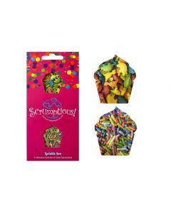 Scrumptious : Sprinkle Duo Envelope - Dinosaurs & Rainbows