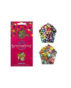 Scrumptious : Sprinkle Duo Envelope - Rainbow Stars & Pearls