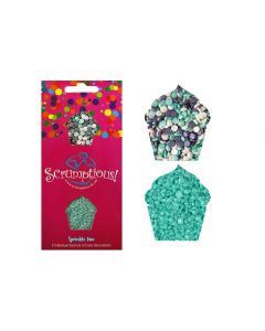 Scrumptious : Sprinkle Duo Envelope - Ice Confetti & Turquoise Sugar