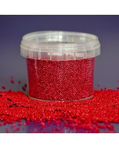 Purple Cupcakes Non Pareils - Red - 100g