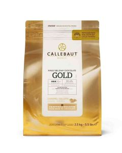 Callebaut Belgian Gold Chocolate - 2.5kg