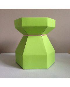 Cupcake Bouquet Box - Lime Green