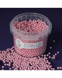 Purple Cupcakes 4mm Shimmer Pearls - Candy - 80g