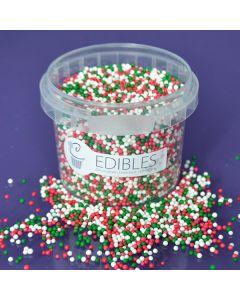 Purple Cupcakes Nonpareils - Christmas Mix - 100g