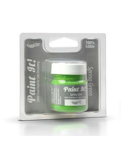 Paint it Edible Food Paint - Spring Green (25ml)
