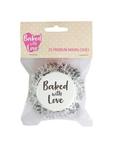 Baked With Love Elegance Baking Cases - Pack of 25