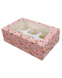6 Cupcake Box - Magical Woodland  - (Pack of 2)