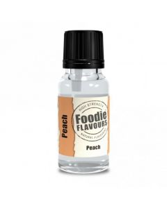 Foodie Flavours Peach Natural Flavouring 15ml