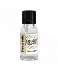 Foodie Flavours Cream Soda Natural Flavouring 15ml