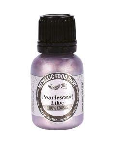 Rainbow Dust Metallic Edible Paint: Lilac (25ml)