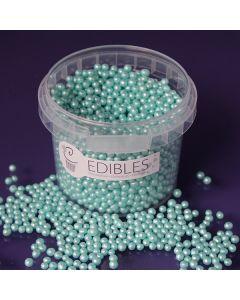 Purple Cupcakes 4mm Shimmer Pearls - Seafoam - 80g