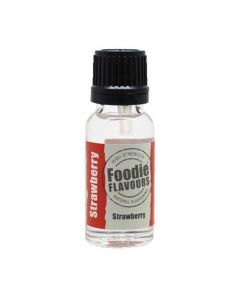 Foodie Flavours Strawberry Natural Flavouring 15ml