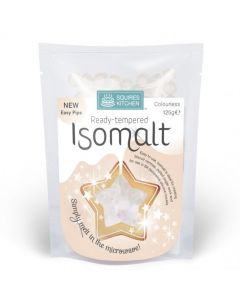 Squires Kitchen Ready Tempered Isomalt: Clear (125g)