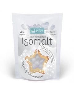 Squires Kitchen Tempered Isomalt: Silver Sparkle (125g)